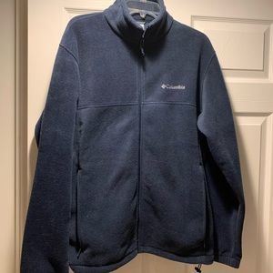 Columbia Navy Fleece Jacket